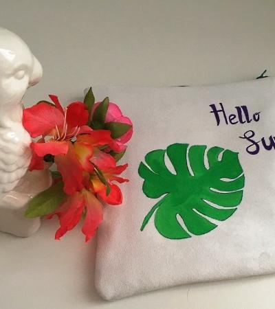 DIY : une pochette aux notes estivales