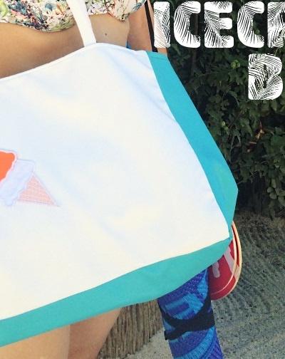 Icecream Beach Bag