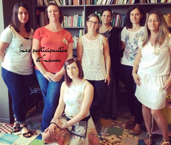 les participantes du concours couture