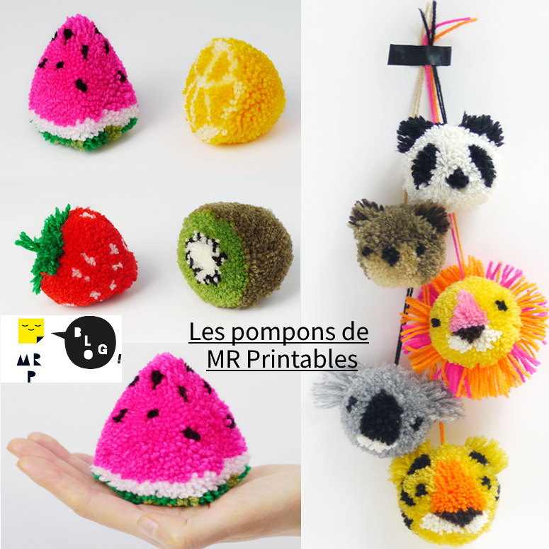 pompom-fruits-animals-grid