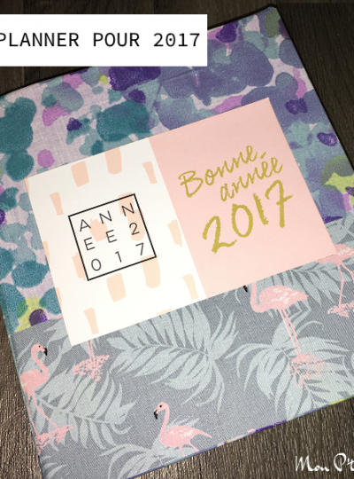 DIY : un joli planner pour 2017