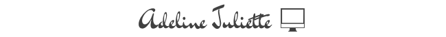 adeline juliette blog