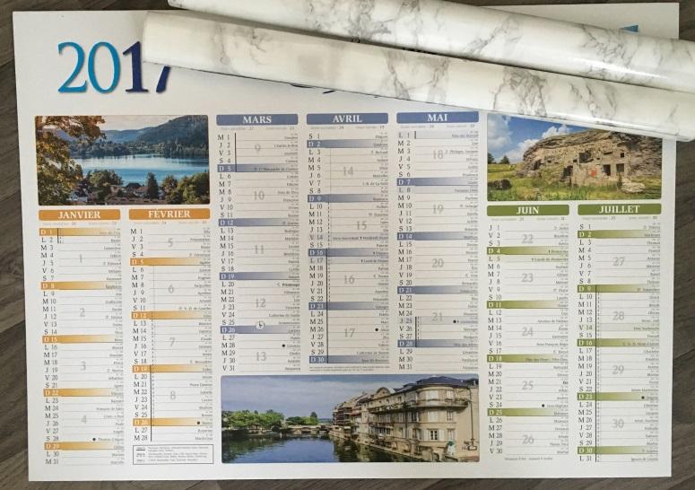 calendrier moche 2017