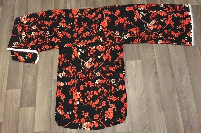 forme kimono en T