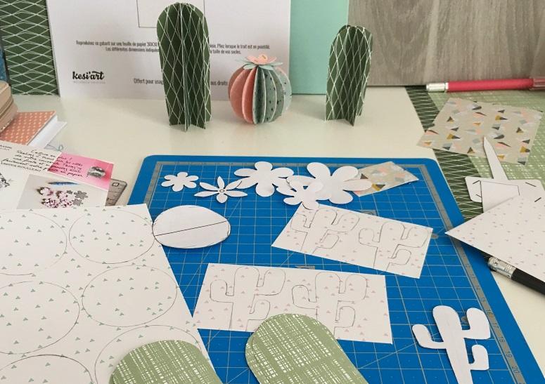 couper les papiers jardin botanique