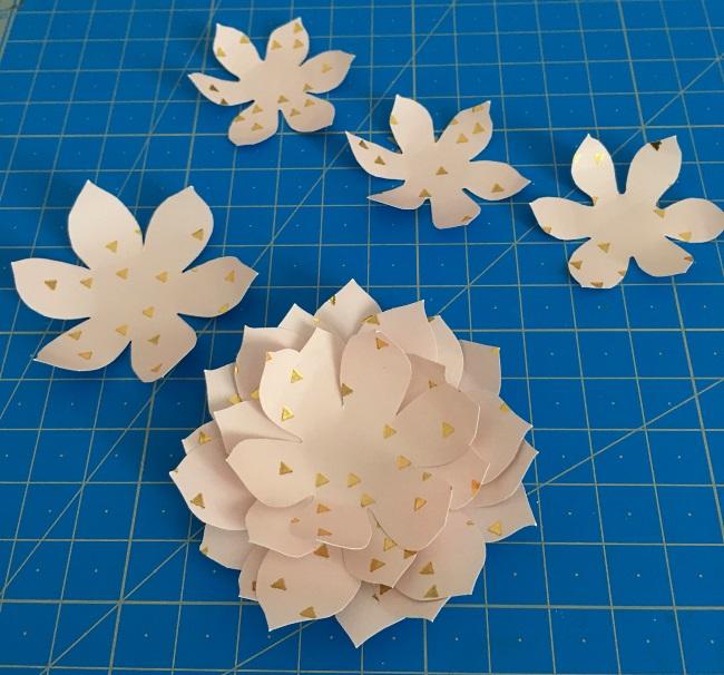 succulentes en papier
