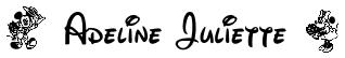 adeline juliette disney