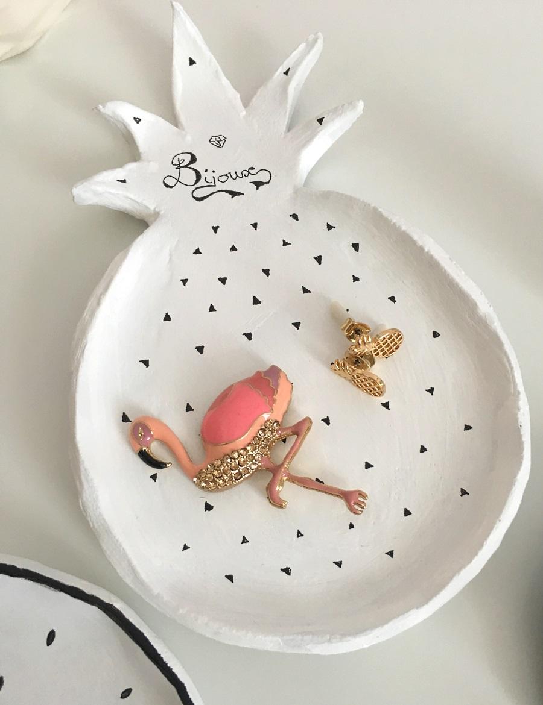 coupelles a bijoux ananas