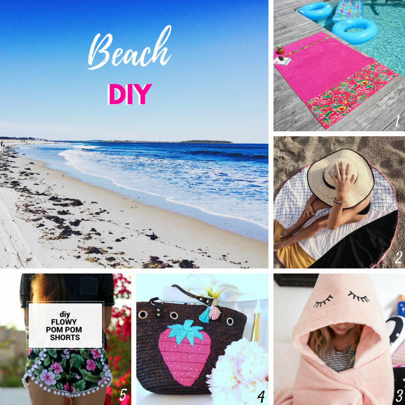 Beach diy selection