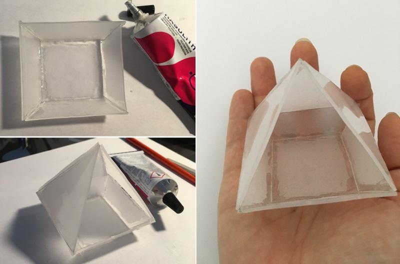 assembler coller mini terrarium