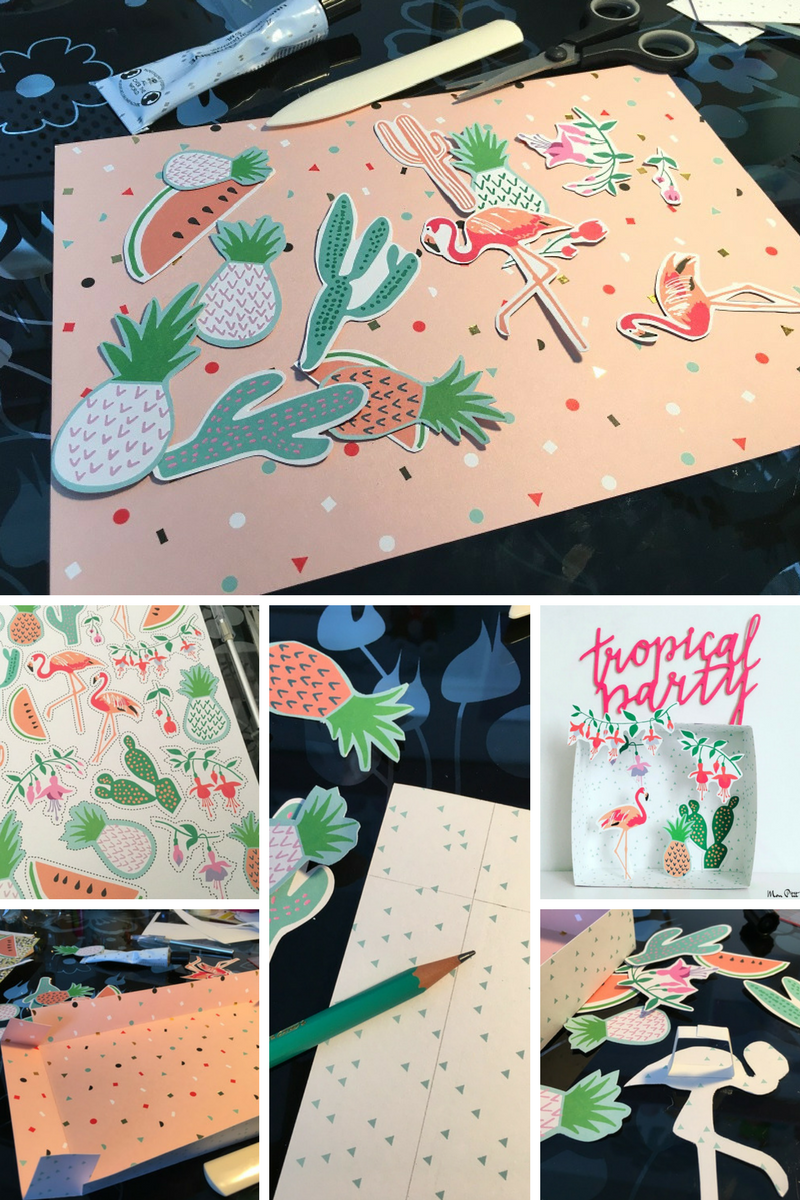 tropical party boxes