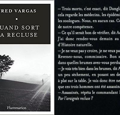 S'échapper dans la lecture – Lire et relire Fred Vargas
