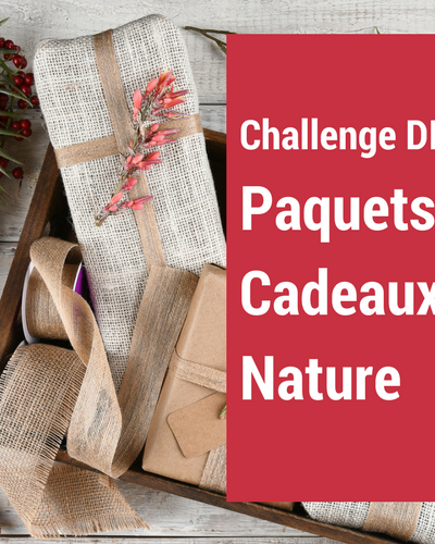 Nouveau challenge : Paquets Cadeaux Nature