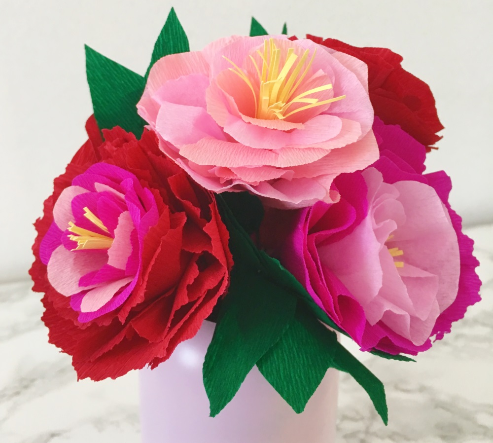 Comment Faire Un Bouquet De Fleurs En Papier Mon P Tit Tresor