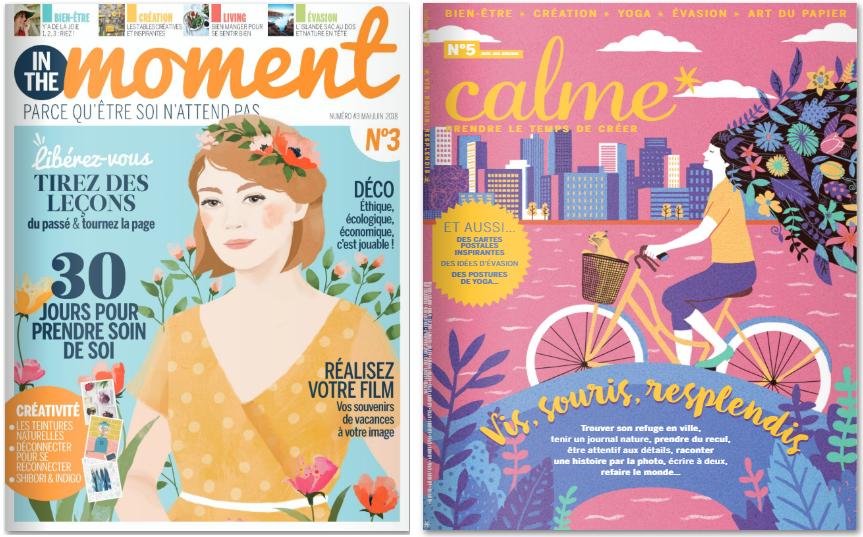 Découvrir les nouvelles revues créatives et lifestyle avant de les acheter…