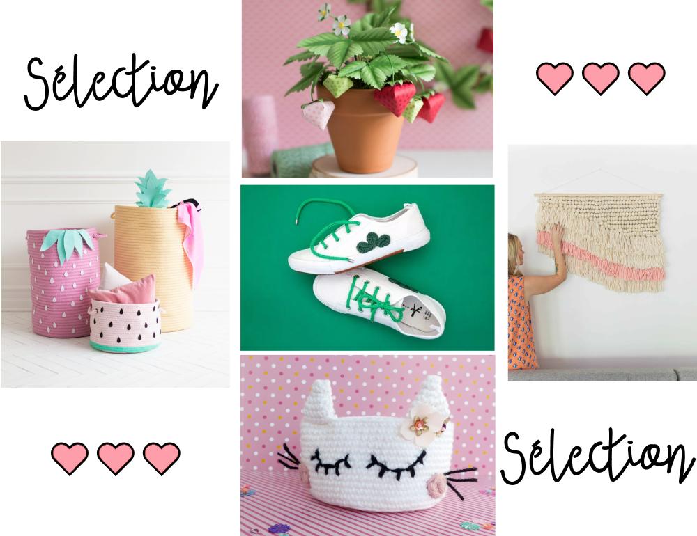 Des fraises, des petits chats, de la custo et de la déco #coup de ♥