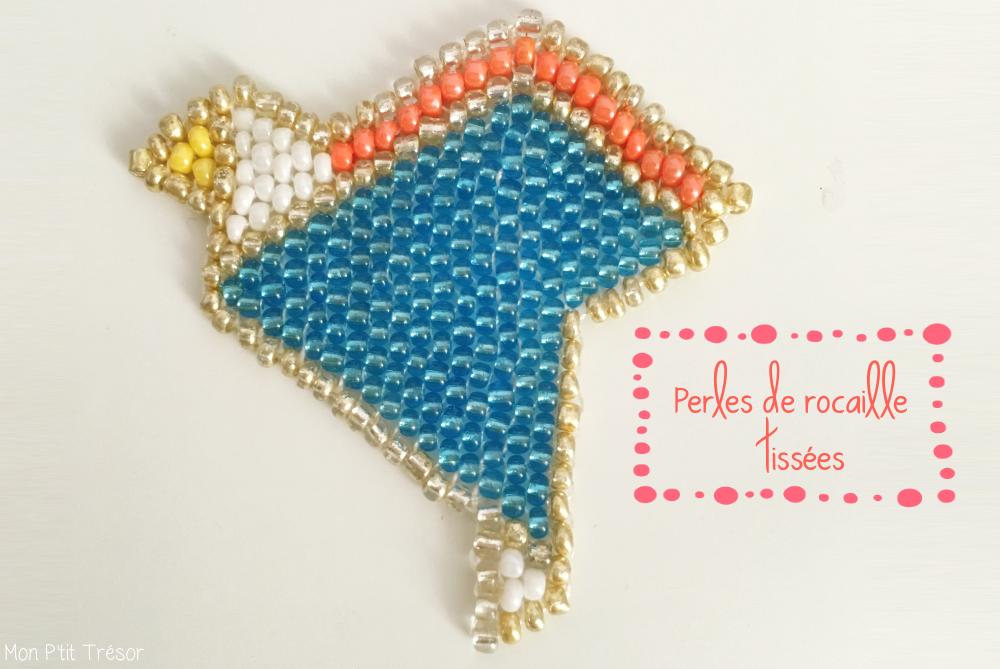 Les perles tissées : les perles de rocaille