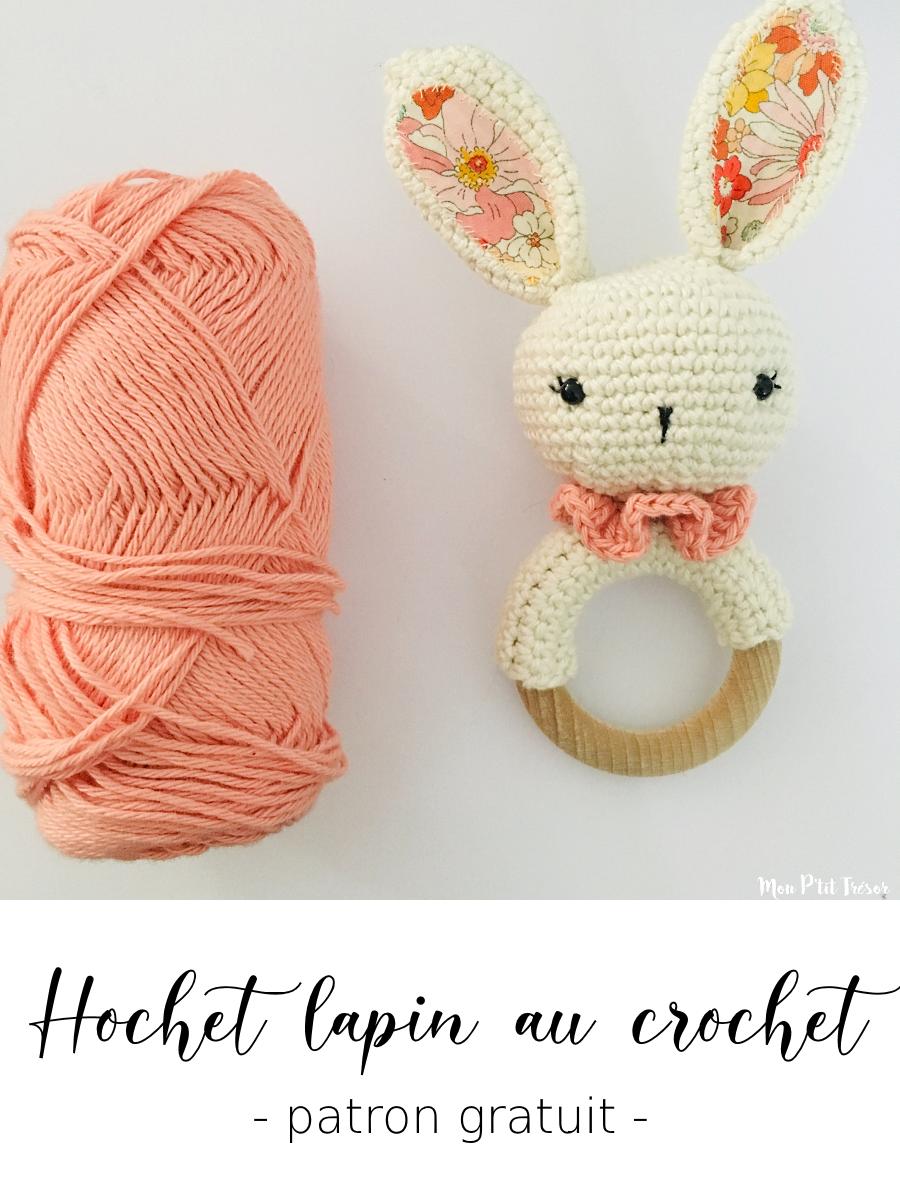 Tutoriel PDF en FRANCAIS/ANGLAIS lapin Liberty au crochet, patron ... | 1200x900