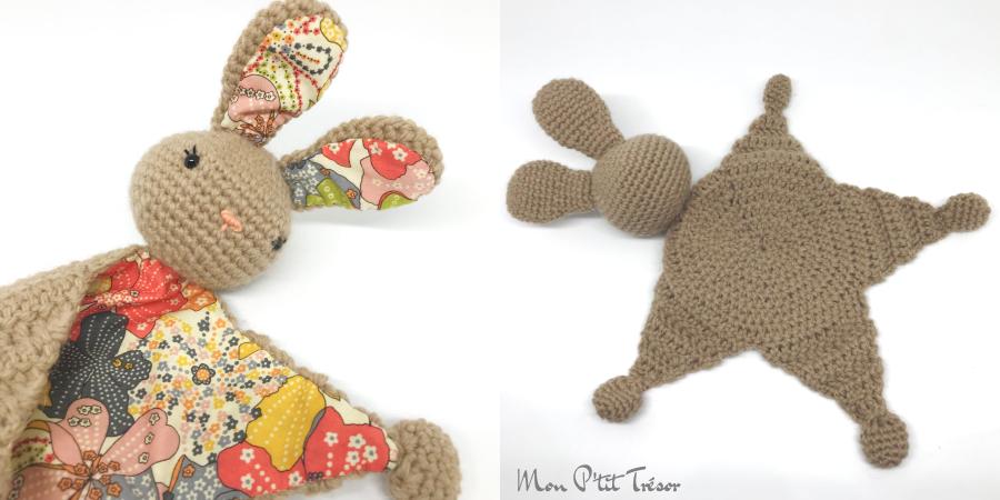 Tuto amigurumi : doudou lapin lanukas - Tout sur le crochet et les ... | 450x900