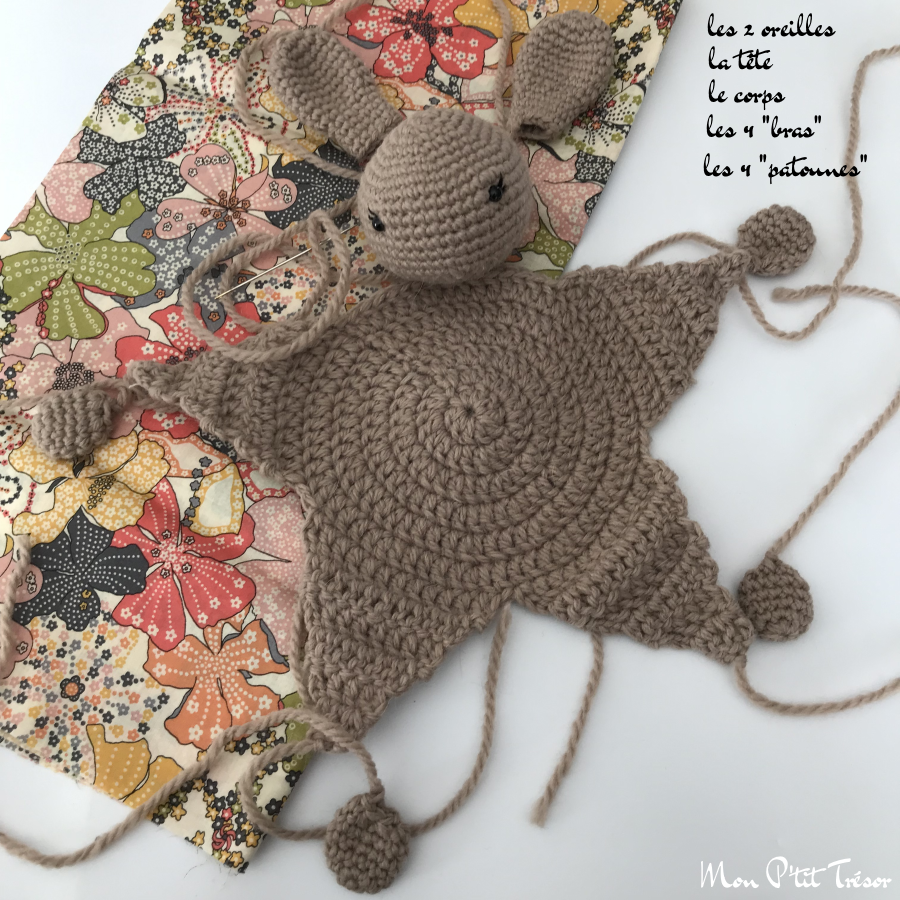 Patron Amigurumi Crochet : lapin réaliste – Made by Amy | 900x900