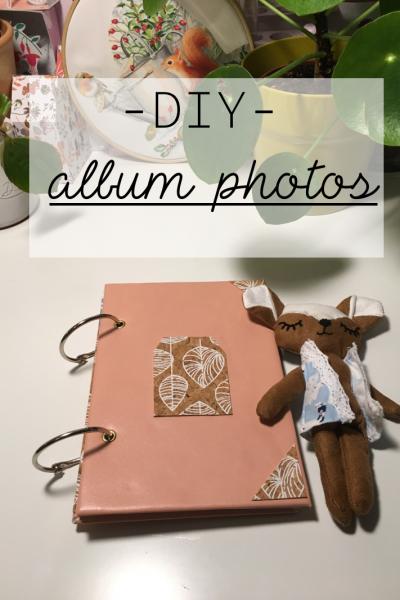 DIY – Album photos/souvenirs maison