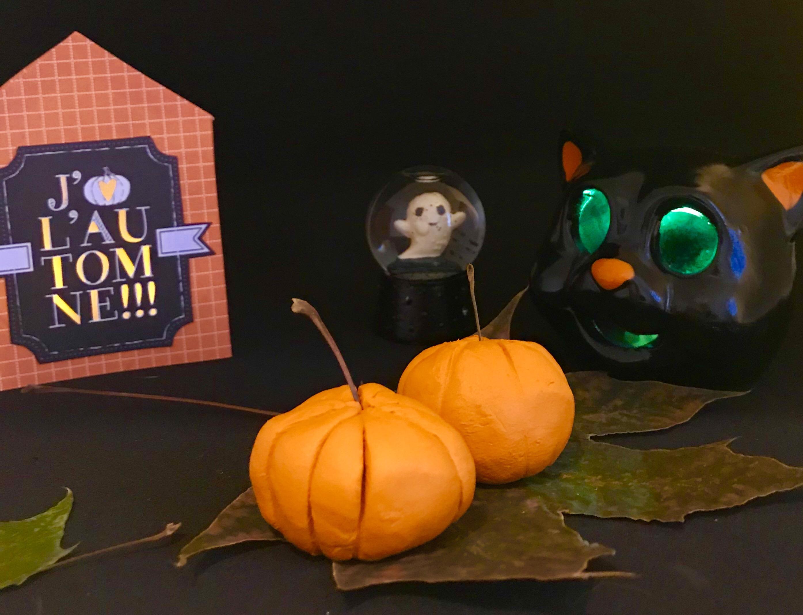 La petite citrouille d'Halloween